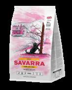 SAVARRA ADULT CAT Сухой корм для взрослых кошек с ягненком и рисом, 400г