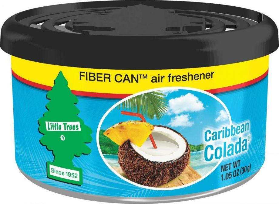 "Car-Freshner Ароматизатор в баночке Fiber Can ""Карибский коктейль"""