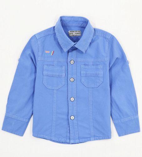 Рубашка для мальчиков 2-5 лет Bonito Jeans, голубая