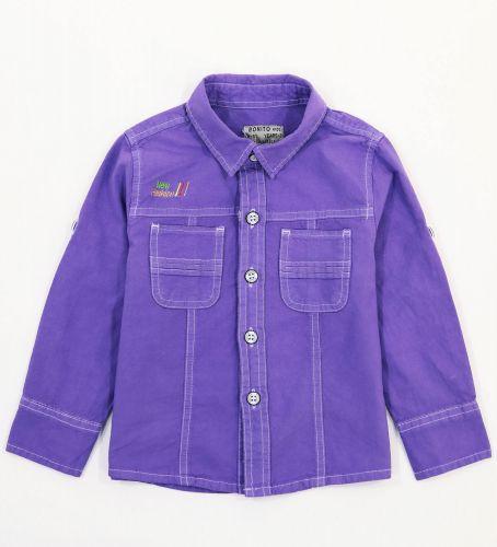 Рубашка для мальчиков 2-5 лет Bonito Jeans, фиолетовая