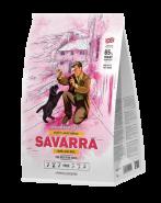 SAVARRA PUPPY LARGE BREED Сухой корм для щенков крупных пород, с ягненком и рисом 3кг