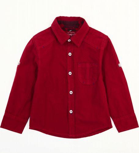 Рубашка для мальчиков 2-5 лет Bonito Jeans, бордовая