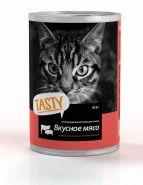 Tasty  консервы для кошек мясное ассорти в соусе 415г