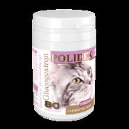 POLIDEX Glucogextron  витамины для кошек (80 таб)