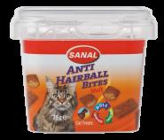 Sanal Лакомство Anti Hairball Malt Bites с солодовой пастой 75г