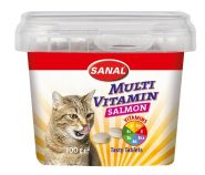 SANAL Витаминный комплекс Multi Vitamin Salmon 100г