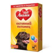 МультиЛакомки Активный питомец для собак 100 таб