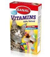 SANAL Витаминизированный комплекс Vitamins для кошек и котят 50г