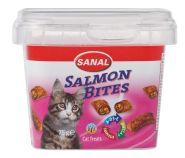 SANAL Лакомство Salmon Bites с паштетом из лосося 400г