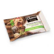 CHOCO DOG шоколад тёмный с инулином лакомство для собак (15г)