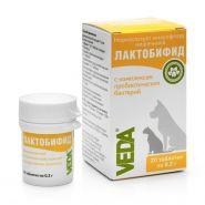 ЛАКТОБИФИД пробиотический функциональный корм (20 таб)