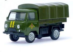 Машина металлическая фургон УАЗ-3303 Вооруженные силы 1:43