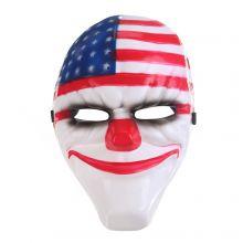 Маска Далласа из Payday 2 Злой клоун