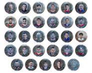Набор 25 рублей — Сборная РОССИИ на Чемпионате мира 2018, весь состав 28 штук