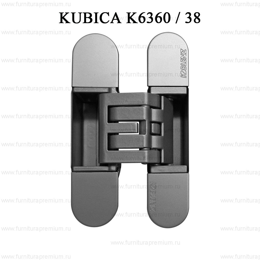 Петля скрытая ассиметричная Krona Koblenz Kubica K6360/38