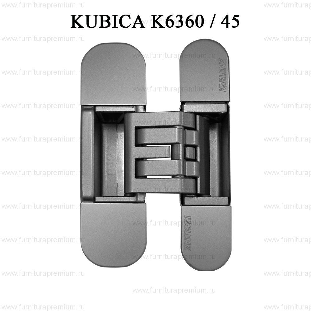Петля скрытая ассиметричная Krona Koblenz Kubica K6360/45