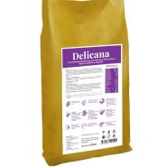 Delicana Сухой корм для собак средних пород, с индейкой и овощами. 20кг