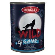 Berkley Adult Dog Wild №4 Консерва для взрослых собак с дичью, морковью, капустой и лесными ягодами - 400 гр