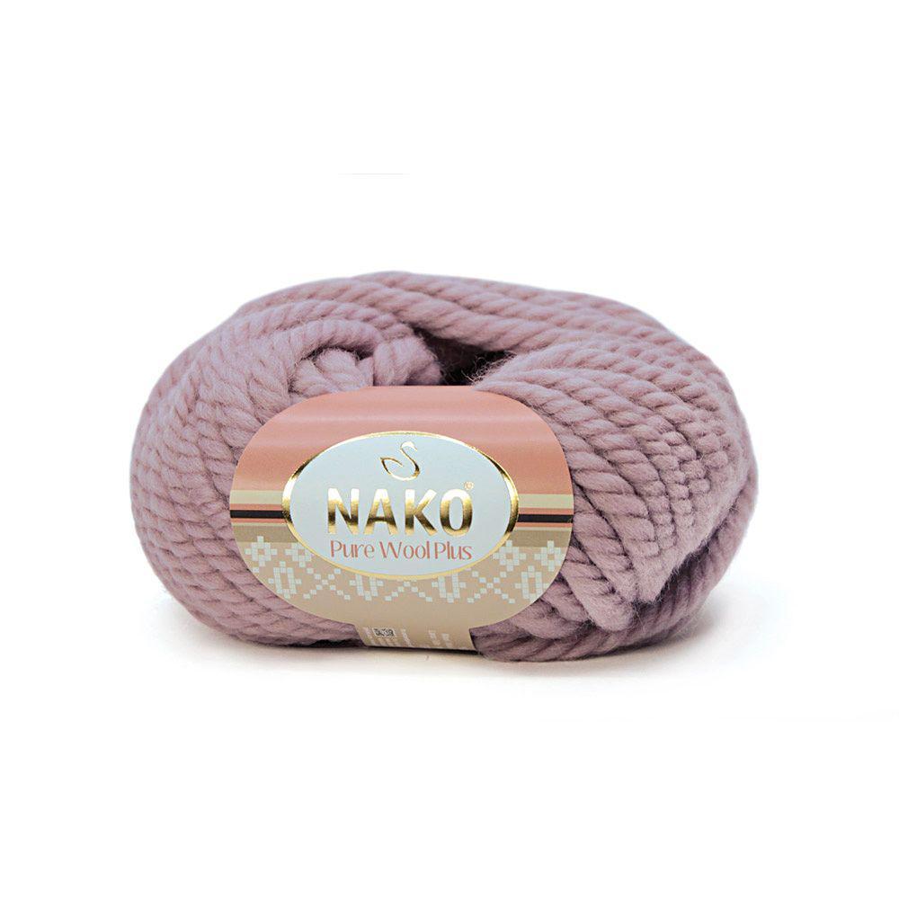 Pure wool plus 11479 пыльная роза