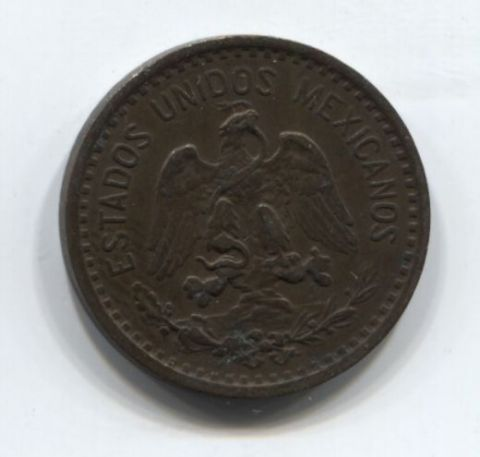 1 сентаво 1906 года Мексика XF