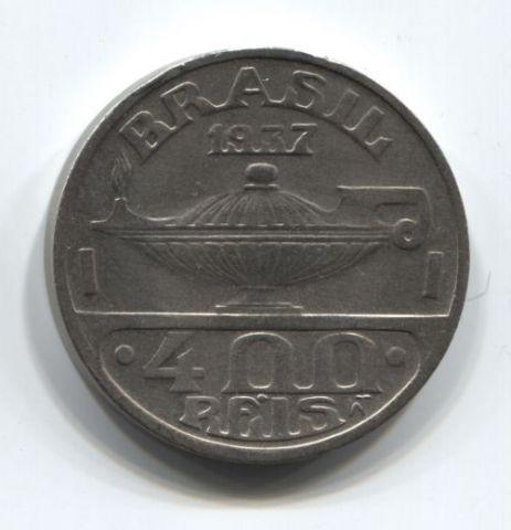 400 рейс 1937 года Бразилия XF+