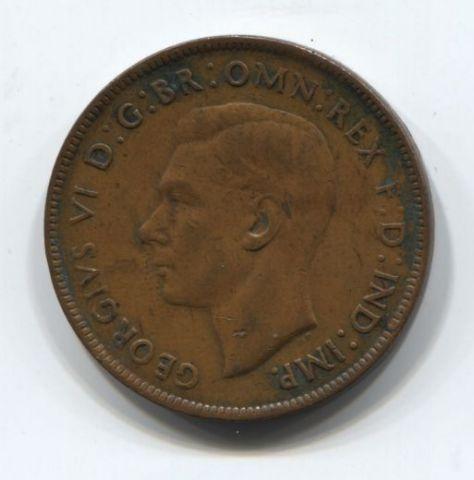1 пенни 1944 года Австралия