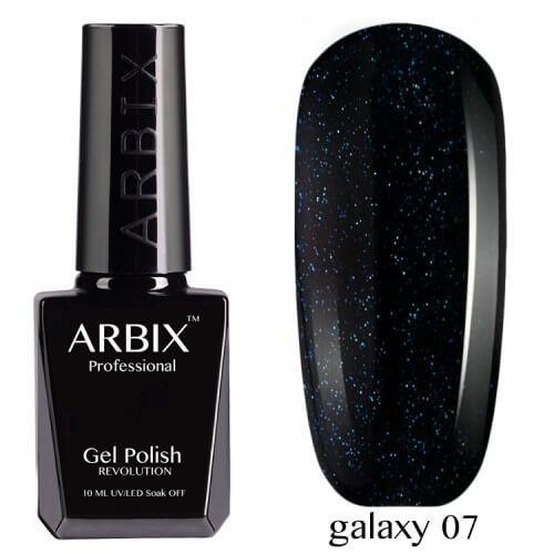 Arbix 007 Galaxy Гель-Лак , 10 мл