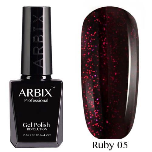 Arbix 005 Ruby Сказки Шахеризады Гель-Лак , 10 мл