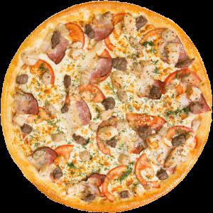 Пицца Мясное ассорти 600г