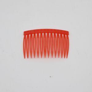 Гребень для волос, пластик, размер 72*43мм, цвет: красный (1уп = 24шт)