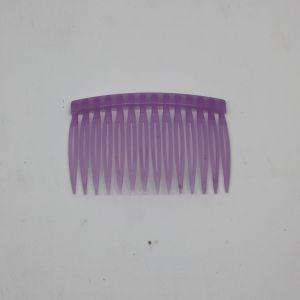 Гребень для волос, пластик, размер 72*43мм, цвет: сиреневый (1уп = 24шт)