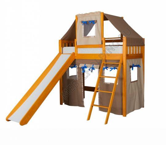 Игровая кровать-чердак Капитан