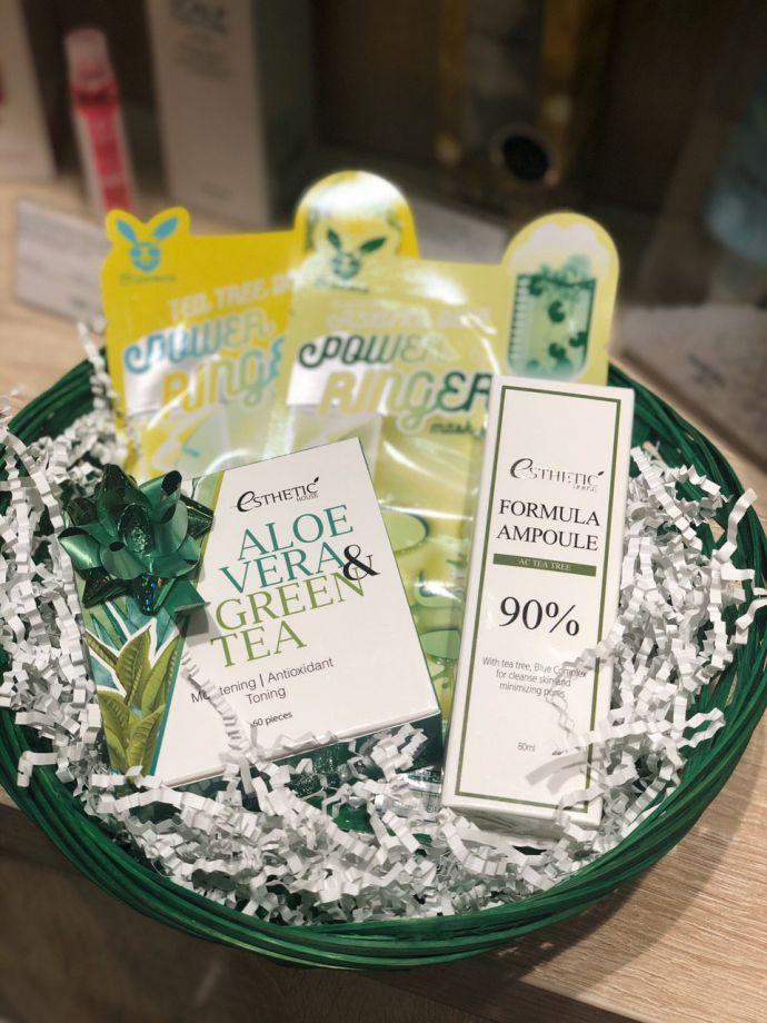"""Подарочный """"Beauty Box Green Tea"""""""