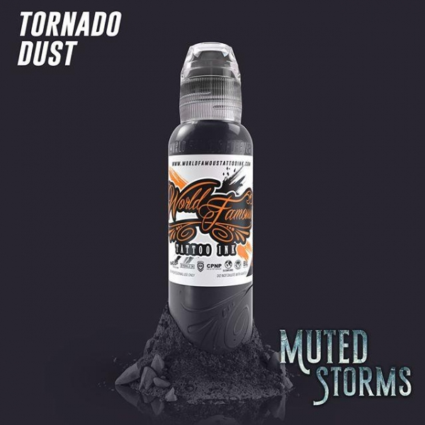 World Famous Ink  Poch's Muted Storms Set - Tornado Dust