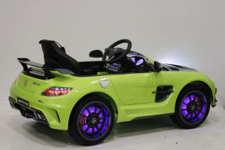 Детский электромобиль River Toys Mercedes-Benz SLS A333AA VIP CARBON