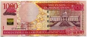 Доминикана 1000 песо 2013
