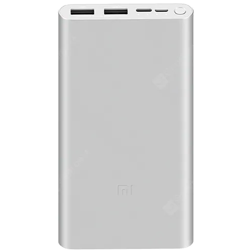 Внешний аккумулятор Xiaomi Mi Power Bank 3 10000 mAh Fast Charger Version PLM13ZM ( Серебро )