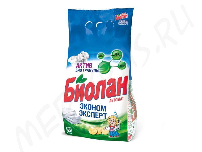 """Стиральный порошок """"Биолан"""" автомат Эконом эксперт 1,2 кг"""