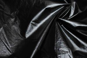 Плащевая ткань лак матовый 7140/C#black