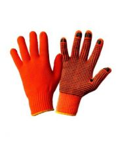 Перчатки акриловые утепленные