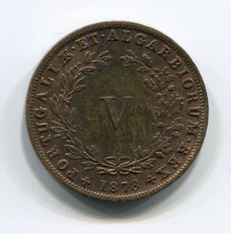5 рейс 1878 года Португалия XF+