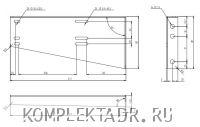 Схема для креплений 88420
