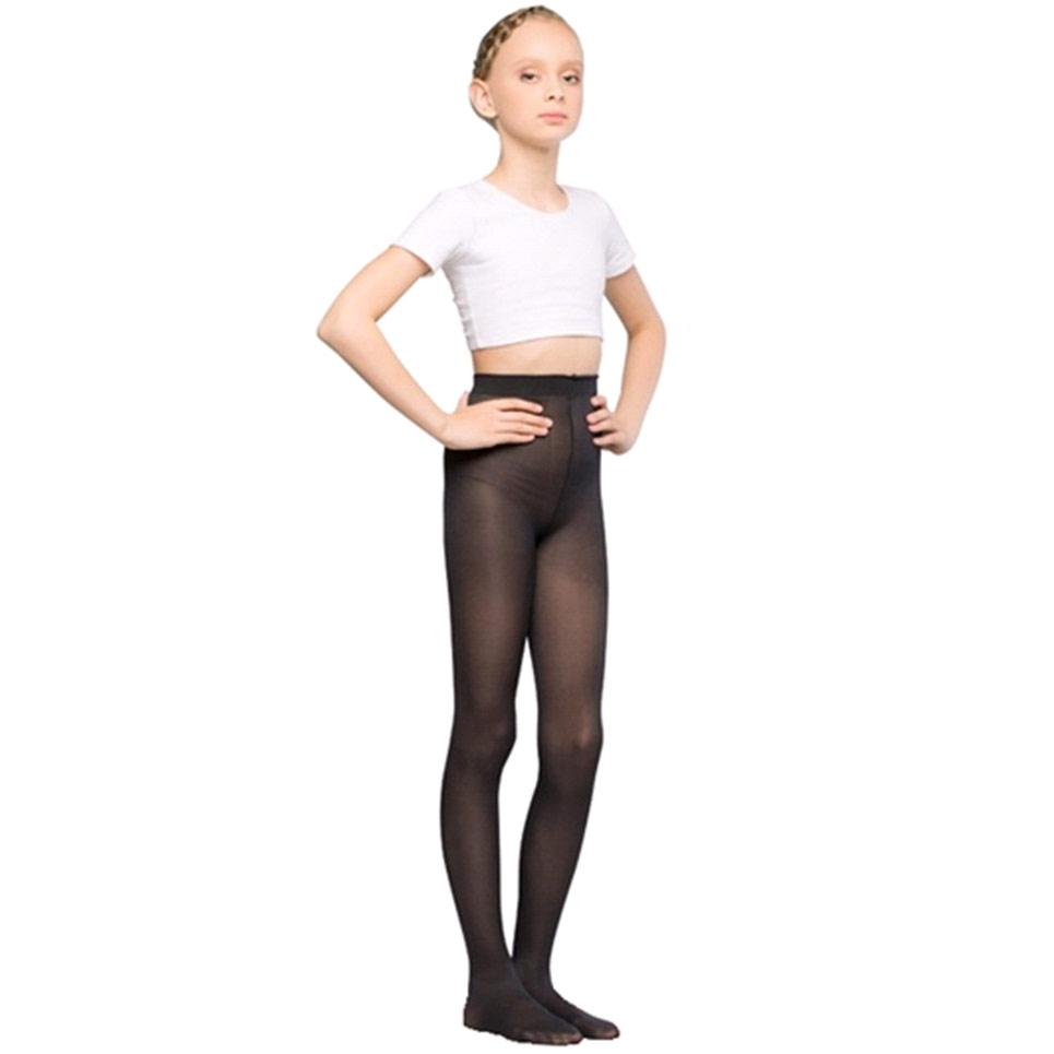 """Колготки для танцев и балета """"MAYA"""" KM 50den черные"""