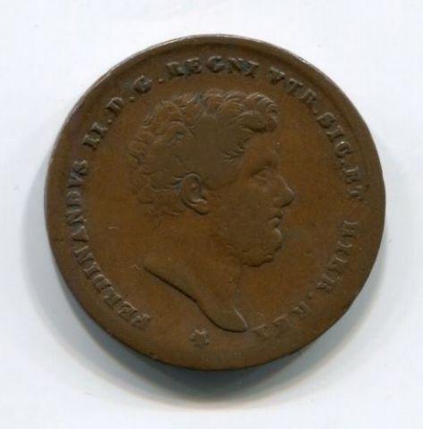 2 торнеси 1853 года Неаполь и Сицилия