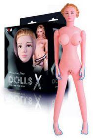 Кукла надувная с реалистичными вставками ToyFa Play Dolls-X