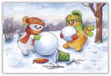 Секреты снеговикостроения