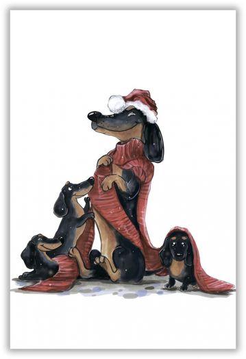 Семейный шарф