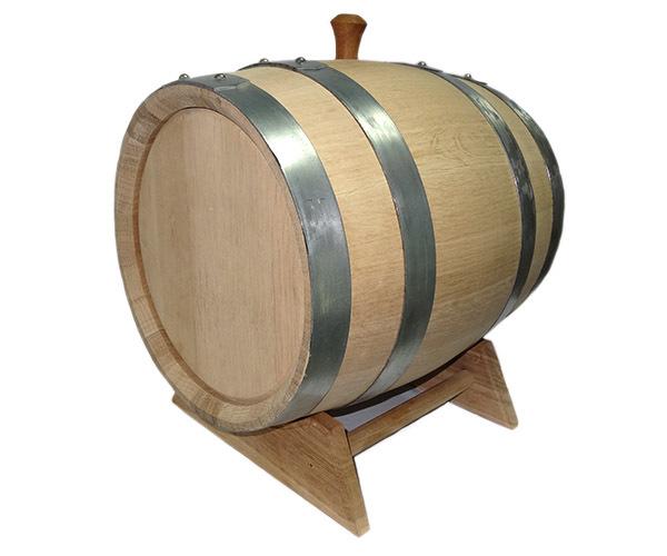 Бочка из колотого кавказского дуба терруарной сушки, 20 литров