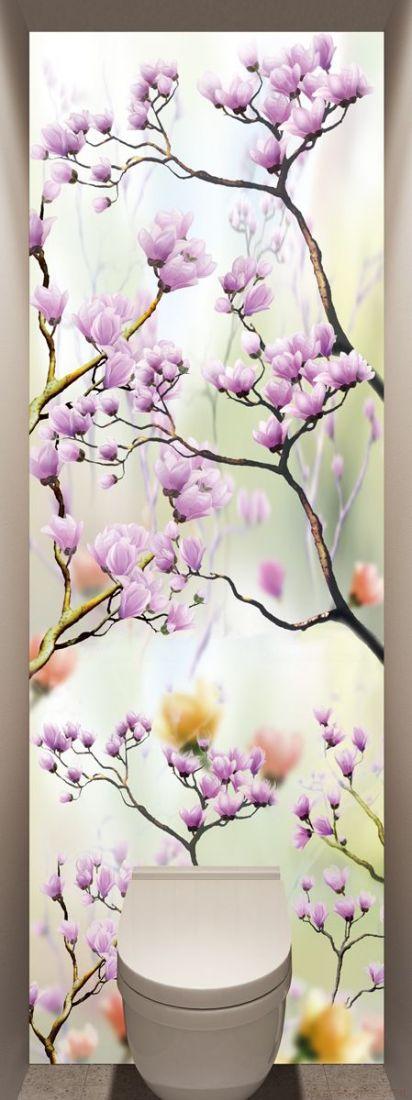 Фотообои в туалет - Искусство цветения