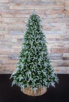 Искусственная елка Нормандия Пушистая 230 см заснеженная